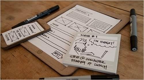 优秀的网站设计离不开创意探讨与原型勾勒